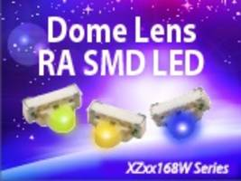 SunLED Presents XZxx168W Series Dome Lens LED with 25 Degree Viewing Angle