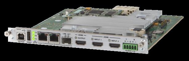 Latest DM NVX Network AV System Comes with intoPIX Flinq Technology