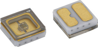 Vishay Intertechnology Announces Ceramic Mid-Power Ultraviolet Emitting Diode for Sterilization, Sanitation and Purification
