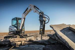 Latest Bobcat Nitrogen Breakers Comes with Loader X-Change Mounting Frame