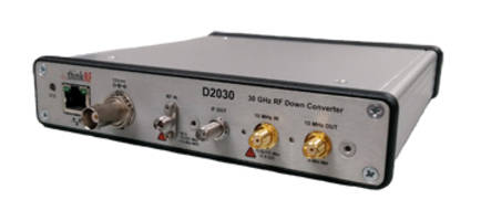 Saelig Launches D20305G RF Downconverter with Real-Time Bandwidth up to 160MHz