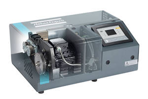 New DHS 065-200 VSD+ Screw Vacuum Pump is Certified to ISO standard 8573-1 Standards