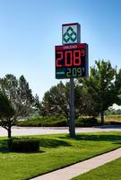 New LED Fuel Price Signs Features a Tri-color LED Configuration