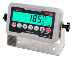 New 185 Rival is a High-quality Economical Durable Weight Indicator with Bright-green LCD for Easy Viewing