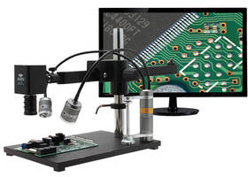 New Ultra-glide Arm Stand System Provides Smooth Motion Along its 23-inch Arm Allowing for Easy Scanning