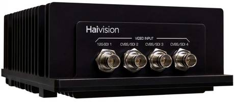 Haivision Presents Makito X4 Rugged Video Encoder with Dual Network Interfaces