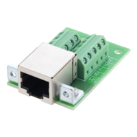 New RJ45 Termination Board with RJ45 (8x8) Jack and Screw Terminals