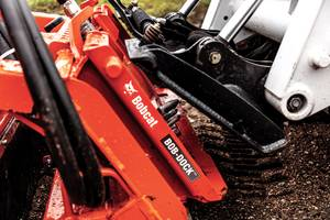 Bobcat Introduces Bob-Dock System for Hands-Free Hydraulic Attachment Mounting System