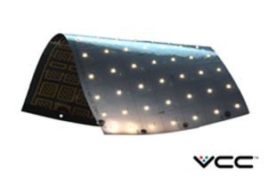 New VentoFlex Flexible Modular Lighting System Made of Flexible Copper Clad Laminate Sheets with 90 CRI Luxeon LEDs