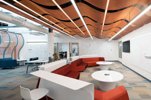 Fabricoil® Reimagined for University of Delaware's Award-Winning iSuite