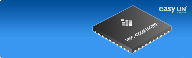 TDK Corporation's New HVC 4420F Embedded Motor Controller with 64 KB Flash Memory and 4 KB SRAM