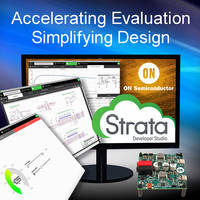 ON Semiconductor's New Strata Developer Studio Makes it Easier for Engineers to Work with Evaluation and Development Boards