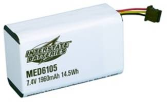 Interstate Batteries® Offers New Sapphire™ Infusion Pump Replacement Battery