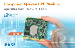 New IBQ800 Designed to Operate at Temperature Ranging from -40 to +85 Degree Celsius