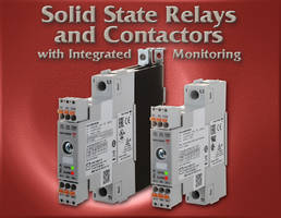 New RG..M Series of 1-Phase Solid State Relays and Contactors Equipped with an Alarm LED for Visual Indication of Fault Presence
