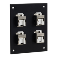 New Series of Universal Sub-panels Include Shielded and Unshielded Versions of 110-Style Tool-less PoE+ Jacks