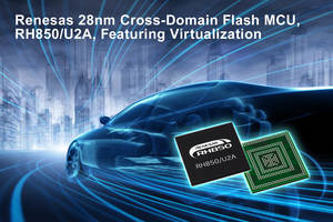 Renesas Offers RH850/U2A Microcontroller with Up to 16 MB of Built-in Flash ROM and 3.6 MB SRAM