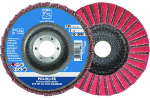 PFERD Launches CO-COOL Flap Disc Available in 4-1/2 and 5-inch Diameters