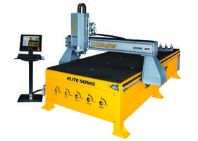 New Cobra Elite CNC Router Designed to Handle High Production Loads with The Speeds, Cut Quality and Versatility