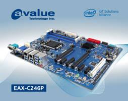 New EAX-C246P Industrial Motherboard Intel 8th Generation Core i3/i5/i7 and Celeron Processors