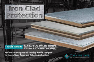 Cornerstone Specialty Introduces MetaGard Finish Offered in Galvanized and Stainless Steel