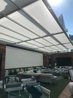 New En-Fold Stadium-Grade Retractable Awning System Provides an Attractive, High-end Solution to Ensure The facility is Available for Year-round Use