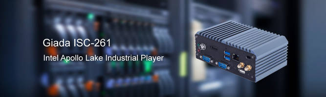 Giada's New Industrial Computing Products Highlighted at EW 2019