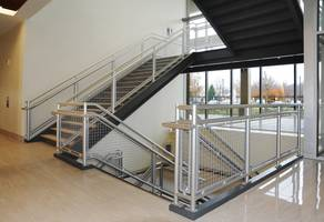 Indiana University Memorial Stadium Sprints Toward Cost Effective Railing System from Hollaender Manufacturing