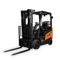 Doosan Industrial Vehicle Introduces 9-Series Forklift With Improved Maneuverability, High Visibility Mast and Heavy-duty Cooling Systems