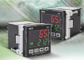 AutomationDirect Introduces SOLO Basic Temperature Controllers to Provide Single Loop Control for Heating and Cooling Processes