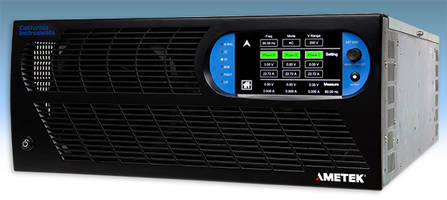Ametek Presents Asterion AC Series Power Supplies with iX2 Current-Doubling Technology