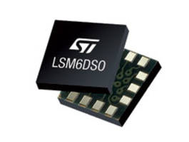 New LSM6DSO iNEMO Inertial Module Features a 3D Digital Accelerometer and a 3D Digital Gyroscope