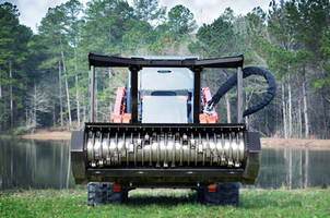 New Skid-Steer Drum Mulcher Designed for Heavy Mulching and Brush Clearing Applications