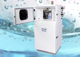 ECD's New Aqua Series of Stationary Wastewater Samplers Improves Operational Efficiency and Reduces Costs