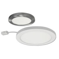 CAMO, a New Series of White LED Surface Mounted Fixtures Available in 6-Inch (700lm,12W), 8-Inch (1100lm, 18W) and 11-Inch (1700lm, 24W) Diameters