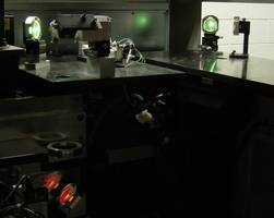 New Laser Safety Mirror and Crosshair Use Fluorescent Glass Technology