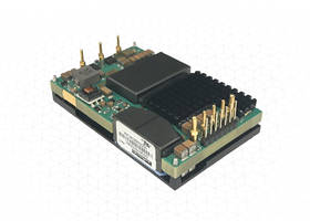 New 600W Digital Quarter-brick DC-DC Converters Feature 2250 VDC I/O Isolation, with a Functional Insulation System