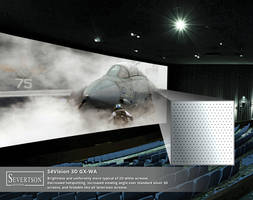 New SeVision 3D GX-WA Projection Screen Comes with PVC Surface with High Gain Optical Coating