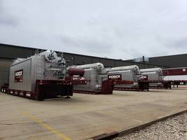 Indeck Power Equipment's Newest Inventory Includes 30,000 PPH to 250,000 PPH Superheated and Saturated Boilers