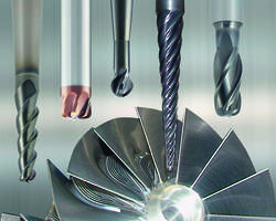 Latest Emuge Turbine End Mills Feature PVD-Applied and Heat-Resistant Coatings