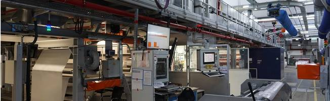 Infiana's New Coater 6 Produces Films with Solvent-based Silicon Coatings on Both Sides