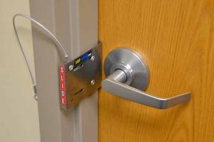 News Coverage Puts Safe-Latch in The Spotlight On-air Segments Demonstrate Fast and Easy Classroom Lockdowns