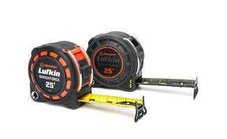 New Crescent Lufkin Shockforce and Shockforce Nite Eye Tape Measures Available in 16-Foot, 25-Foot and 35-Foot