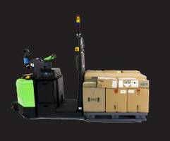 New Pallet Jack Self-Driving Vehicle is Designed for Warehouse Automation