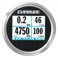 Evinrude's New Nautilus 3.5-inch Color Display Includes Engine and Vessel Pages, Mode Selection as well as Number of Selectable Home Screens
