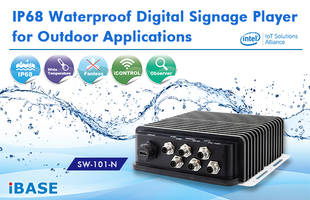 New SW-101-N Waterproof Digital Signage Player Includes 4GB of DDR3L-1333 System Memory, 64GB mSATA storage and 12V DC-in Support