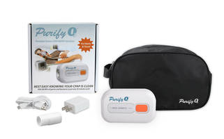 New Purify O3 Ozone Sanitizer Features a Compact and Lightweight Design with a Rechargeable Lithium-ion Battery