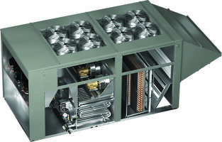 New Ventilator Models RV-110 and RVE-180 Provides Capacities up to 18,000 cfm and up to 70 Tons of Packaged Cooling