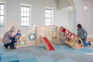 CedarWorks New Under2 Indoor Line of Play Meets Commercial Safety Standards For Children Ages 6 To 23 Months