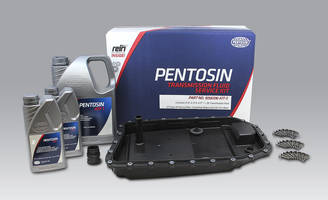 New Pentosin Transmission Fluid Service Kits Include OE-approved Pentosin Transmission Fluid, Rein Automotive Oil Pan Filter, Sealing Sleeve and Installation Bolts